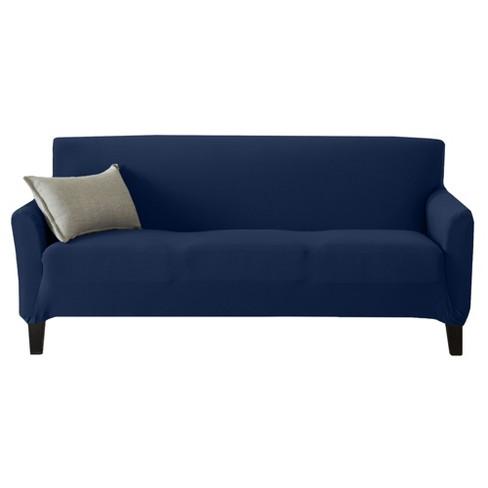Jersey Knit Oversized Sofa Slipcover