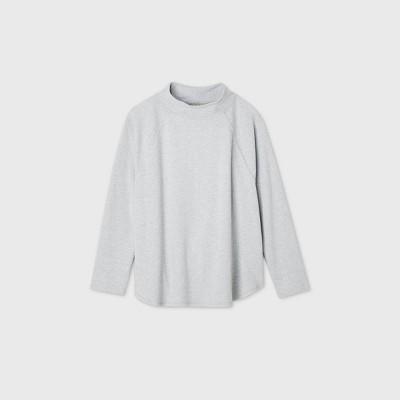 Women's Plus Size Feminine Fleece Sweatshirt - Ava & Viv™ Gray 3X