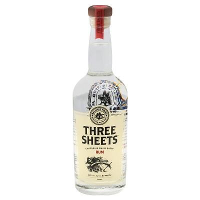 Three Sheets Rum - 750ml Bottle