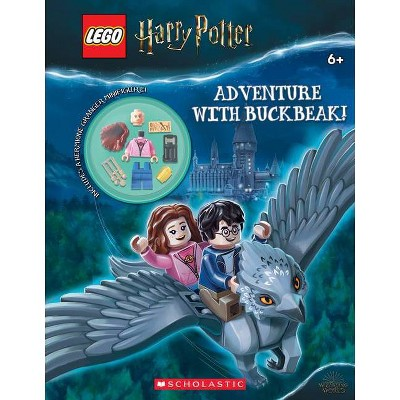 Adventure with Buckbeak! (Lego Harry Potter: Activity Book with Minifigure) - (Lego Wizarding World of Harry Potter) by  Ameet Studio (Paperback)