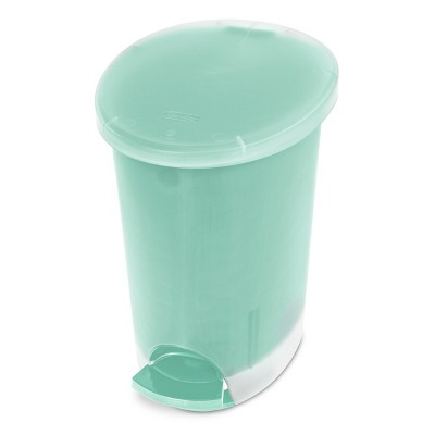 Step Open Trash Can Jade Green Sterilite - Room Essentials™