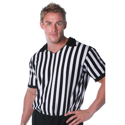 Underwraps Costumes Referee Shirt Adult Costume