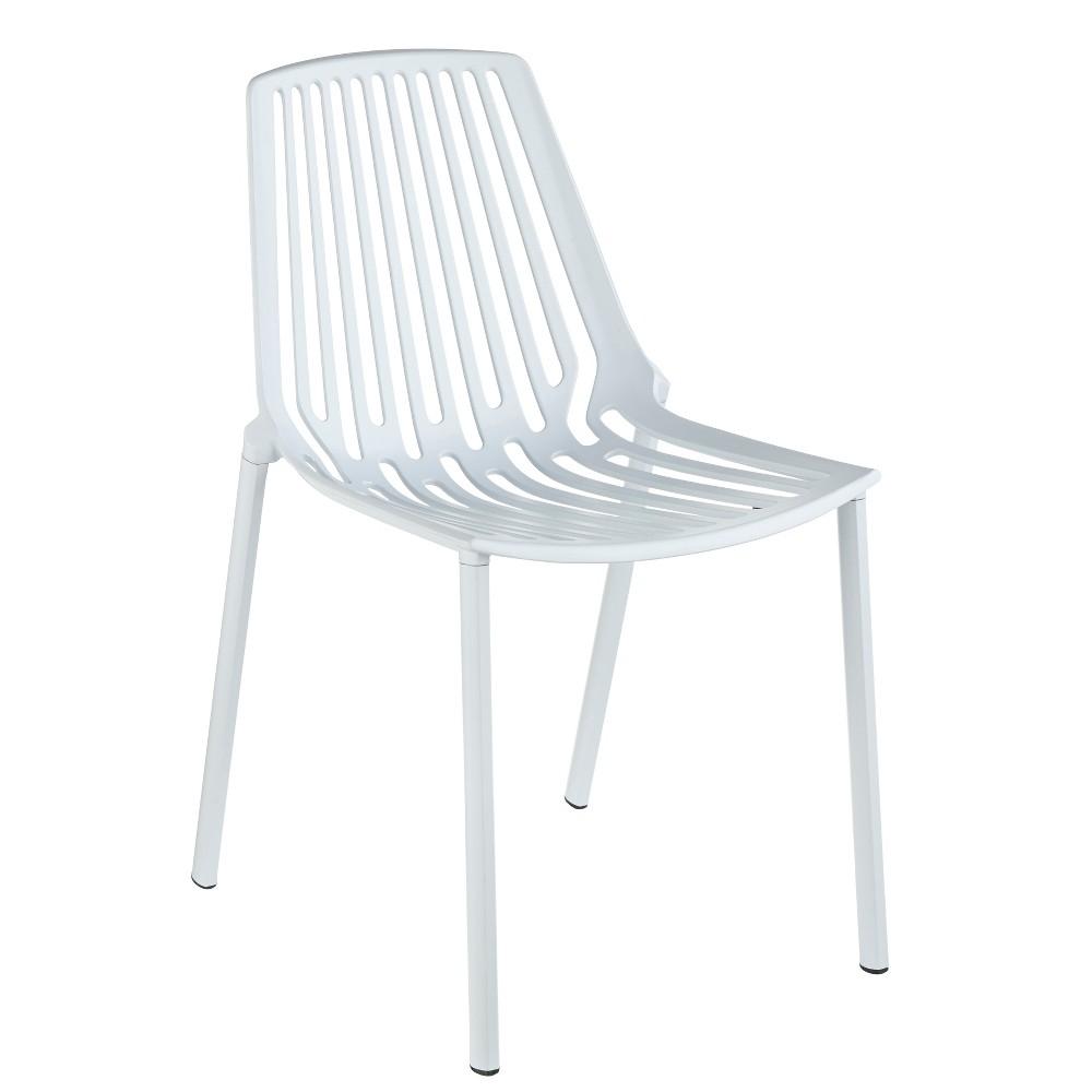 Brilliant Set Of 4 Jemma Dining Chairs White Buylateral Creativecarmelina Interior Chair Design Creativecarmelinacom