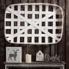 "30"" Wooden Tobacco Decorative Basket - Glitzhome - image 2 of 4"