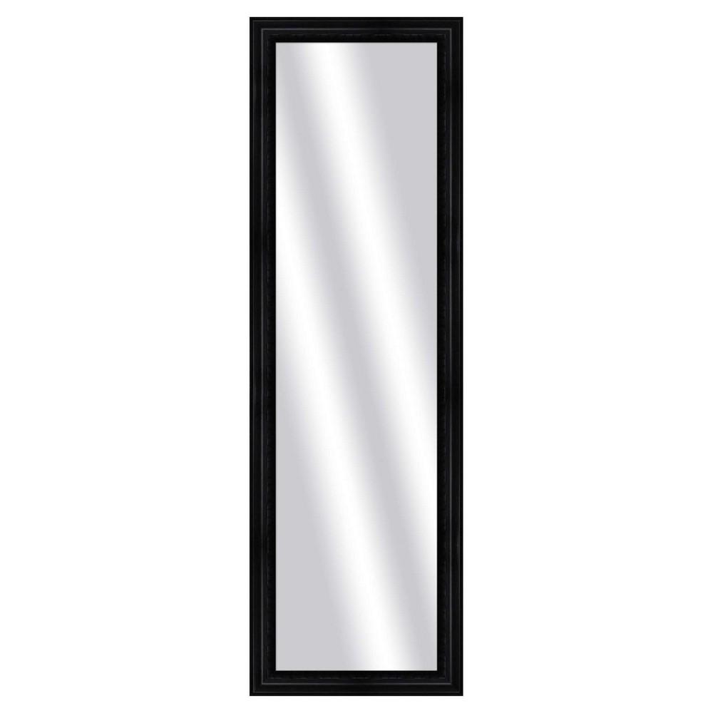 Floor Mirror Ptm Images Black, Multi-Colored
