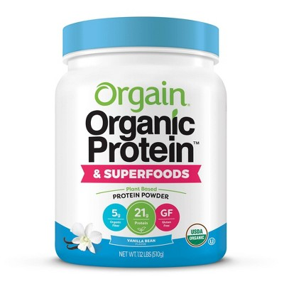 Protein & Meal Replacement: Orgain Organic Protein & Superfoods Powder