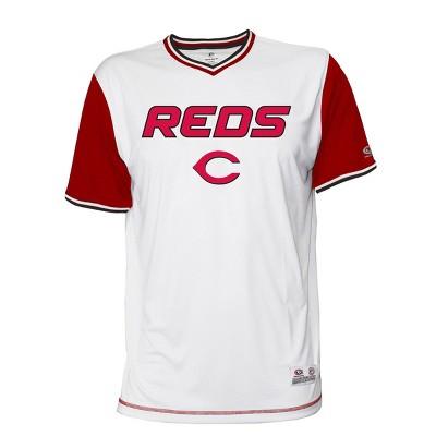 MLB Cincinnati Reds Men's Gametime V-Neck Jersey