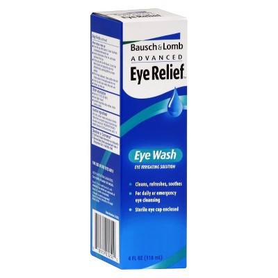 Eye Drops: Bausch + Lomb Advanced Eye Relief Eye Wash
