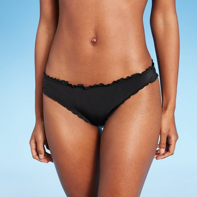 Women's Ruffle Cheeky Bikini Bottom - Shade & Shore™