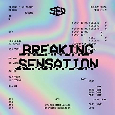 Sf9 - Breaking Sensation (CD) - image 1 of 1