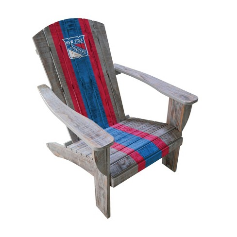 NHL New York Rangers Wooden Adirondack Chair - image 1 of 2