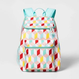 Backpack Cooler Geo Print - Sun Squad™