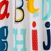 ABC's Shower Curtain - Pillowfort™ - image 2 of 2
