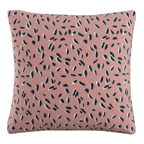 Throw Pillow Skyline Furniture Pink Teal - image 1 of 4