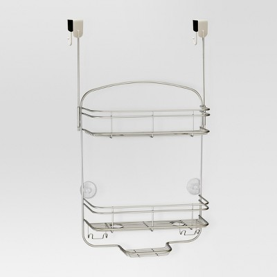 Over the Shower Caddy Pearl Satin Silver - Threshold™