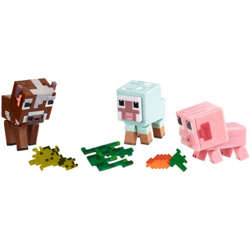 Minecraft Comic Mode Baby Animals 3-Pack - image 1 of 4
