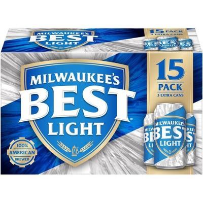 Milwaukee's Best Light Beer - 15pk/12 fl oz Cans