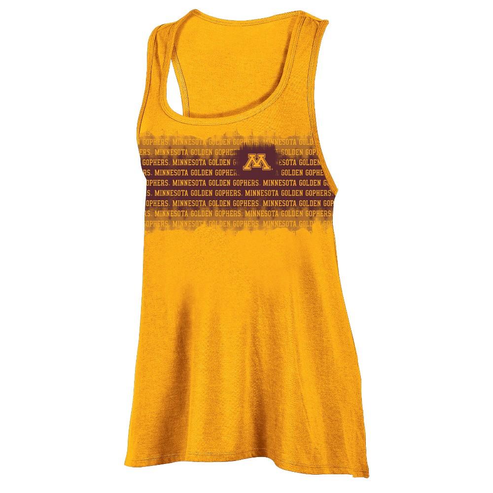 Minnesota Golden Gophers Women's Collegiate Victory Bi-Blend Alt Racerback Tank Top S, Multicolored