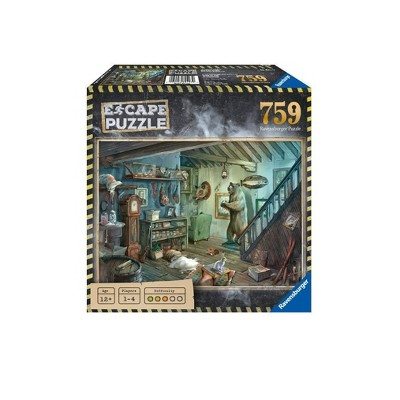 Ravensburger Escape 759pc Puzzle Assortment - The Forbidden Basement
