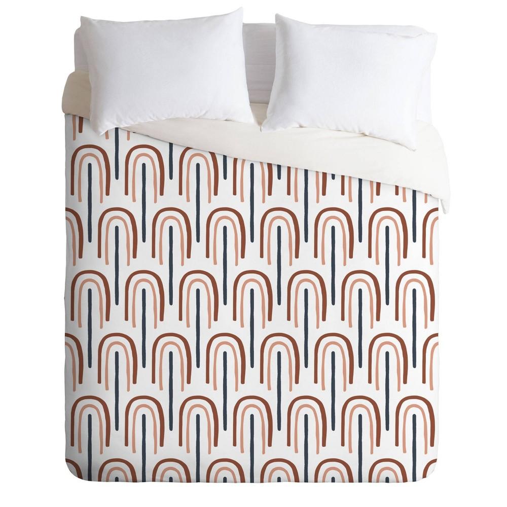 Compare Twin/Twin XL Emanuela Carratoni Modern Rainbow Pattern Comforter Set  - Deny Designs