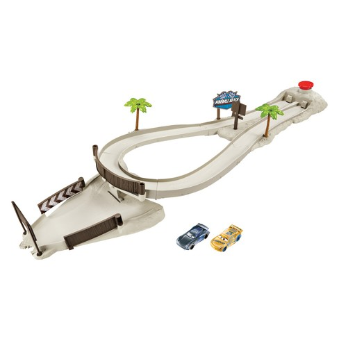 Disney Pixar Cars Fireball Beach Racers Beach Duel Playset - image 1 of 4