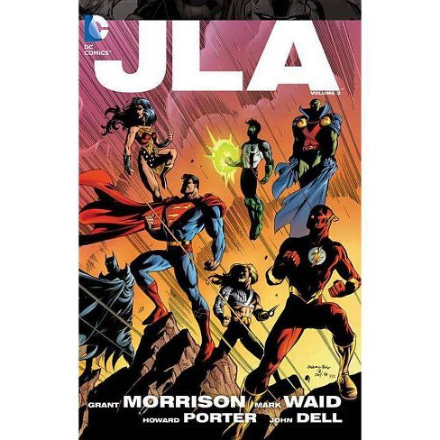 Jla Vol. 3 - (JLA Deluxe Editions) by  Grant Morrison & Mark Waid (Paperback) - image 1 of 1