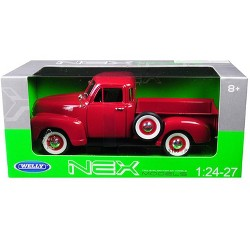 1953 Chevrolet 3100 Pick Up Truck Red 1/24-1/27 Diecast Model Car by Welly