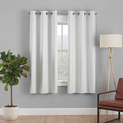 Desmond Blackout Curtain Panel - Eclipse Absolute Zero