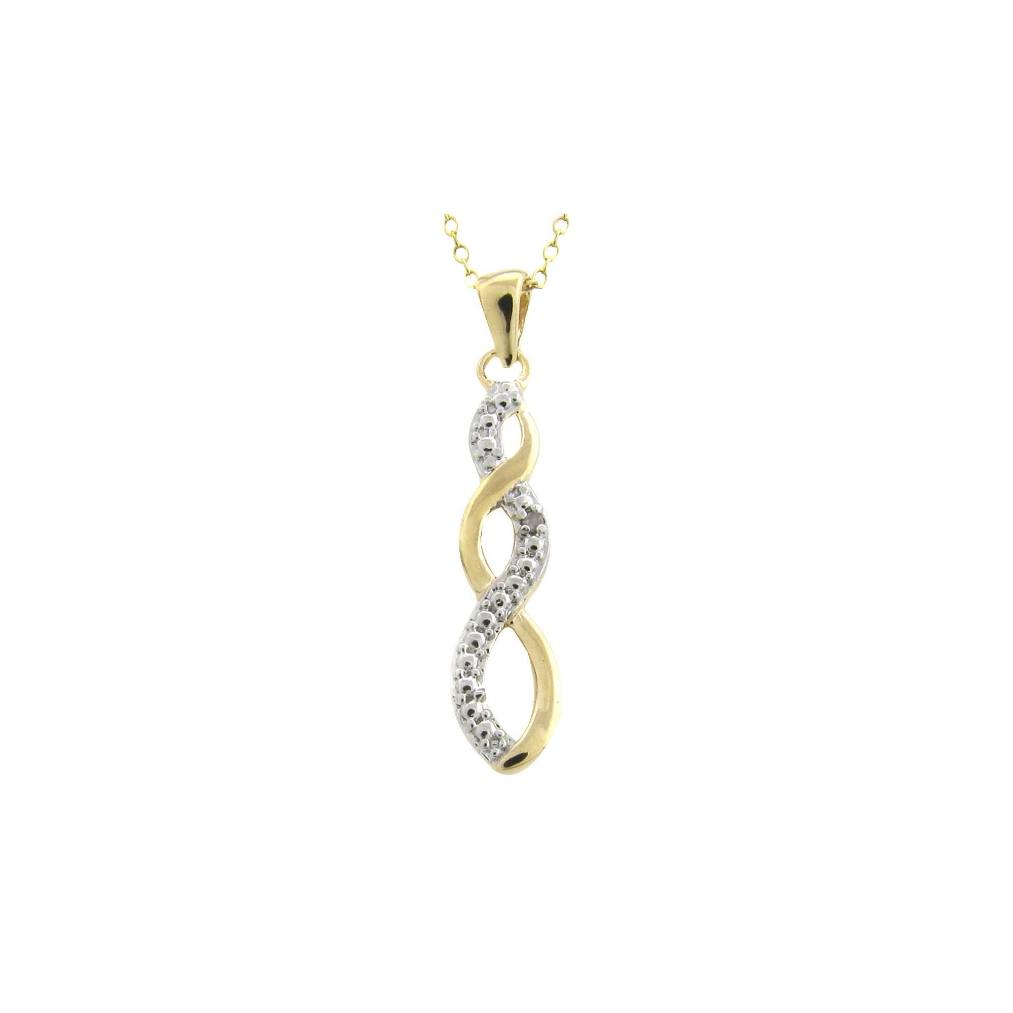 Diamond Accent Infinity Pendant, Women's