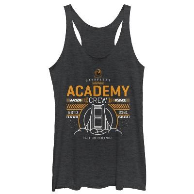 Women's Star Trek Starfleet Academy San Francisco 2161 Racerback Tank Top