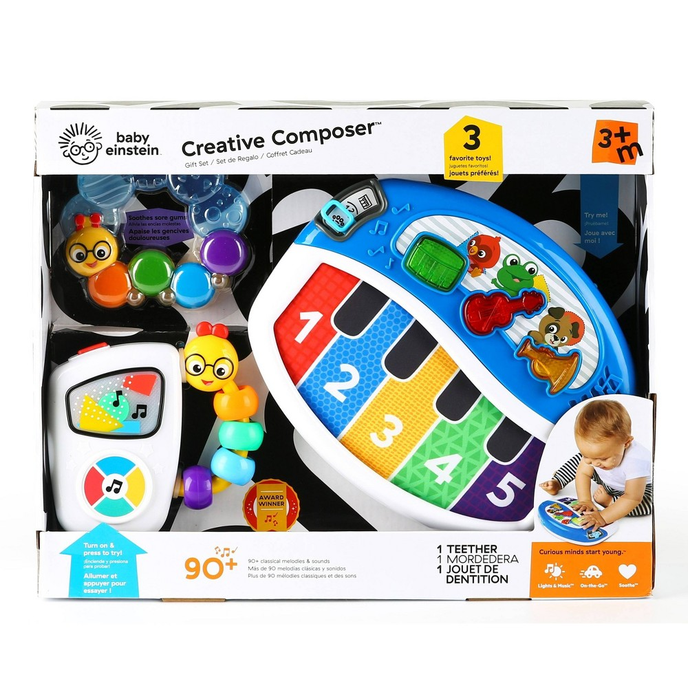 Image of Baby Einstein Creative Composer Musical Toy Gift Set