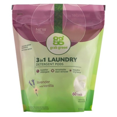 Laundry Detergent: Grab Green