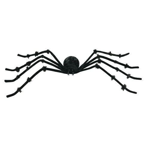 "50"" Halloween Posable Spider Black - image 1 of 1"