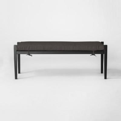 Fairmont Metal Patio Dining Bench - Threshold™