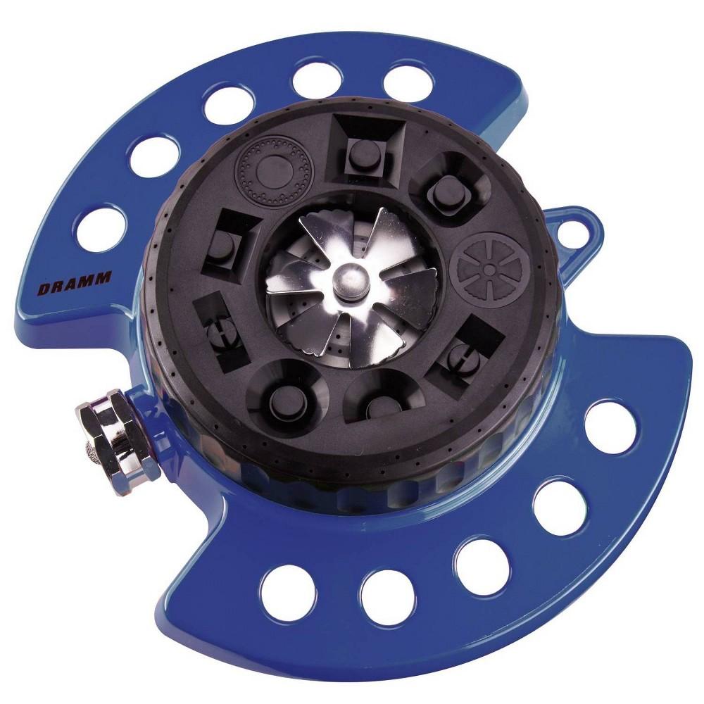 Image of ColorStorm 9 Pattern Turret Sprinkler Blue - Dramm