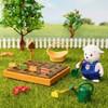 Li'l Woodzeez Miniature Playset with Animal Figurine 31pc - Garden Set - image 2 of 4