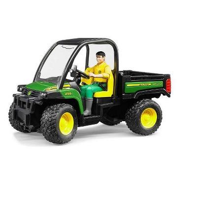 Bruder 09812 John Deere Gator XUV 855D with Driver