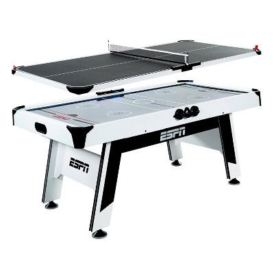 """ESPN 72"""" Air Hockey and Table Tennis Table"""