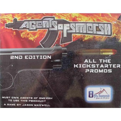 Agents of SMERSH - All the Kickstarter Promos! Board Game