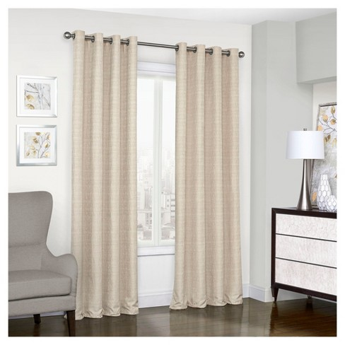 Trevi Thermalined Curtain Panel - Eclipse™ - image 1 of 2