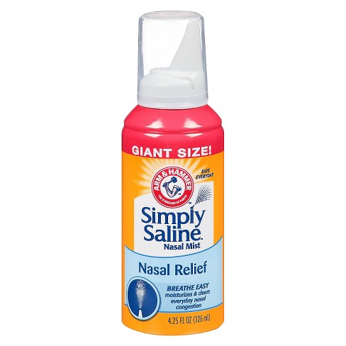 Simply Saline Nasal Relief Spray - 4.25 fl oz - image 1 of 1