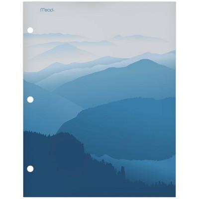 Paper Portfolio 2 Pocket Modern Landscapes Mountain - Mead
