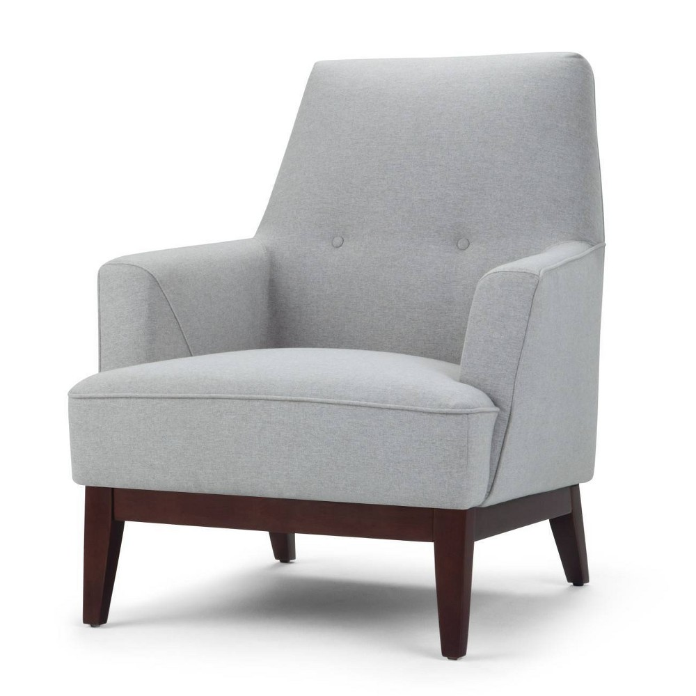 Dumont Accent Chair Light Gray - Wyndenhall