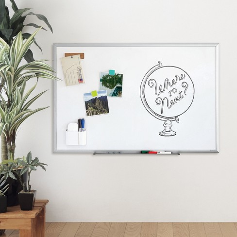 "Ubrands Dry Erase Board with Aluminum Frame - 23"" x 35"" - image 1 of 1"