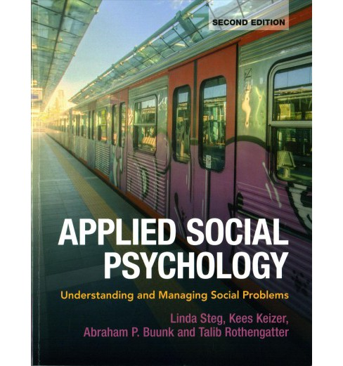 Applied Social Psychology : Understanding and Managing Social Problems -  (Paperback) - image 1 of 1
