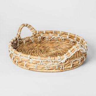 Decorative Basket Tray - Threshold™