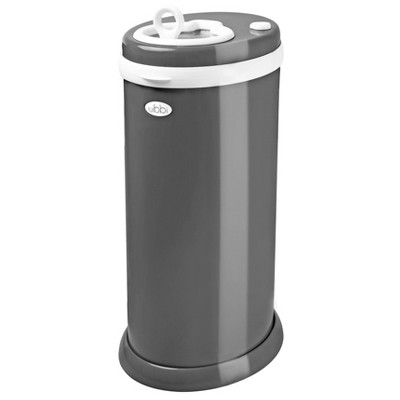 Ubbi Steel Diaper Pail - Slate Gray