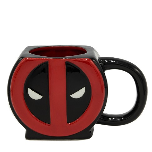 Marvel Deadpool Logo 3D Sculpted Mug - image 1 of 1