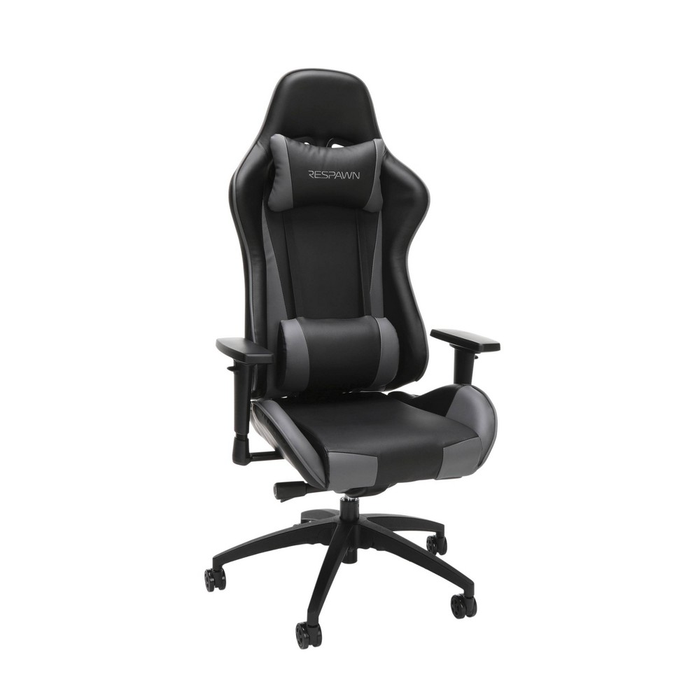 Image of 105 Racing Style Gaming Chair Gray - RESPAWN, Gray Black