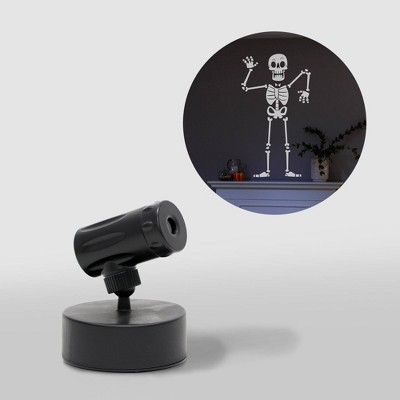 Philips LED White Skeleton Battery Operated Projector Halloween Special Effects Light